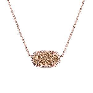 rose gold kendra scott necklace